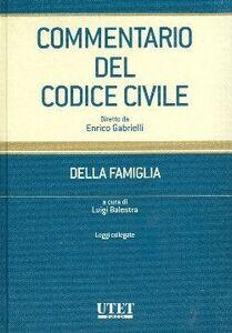 Commentario del Codice civile. Vol. 4: Della famiglia. Leggi collegate.
