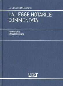 Legge notarile commentata