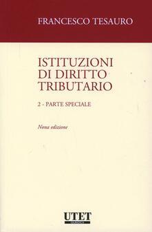 Istituzioni di diritto tributario. Vol. 2: Parte speciale..pdf