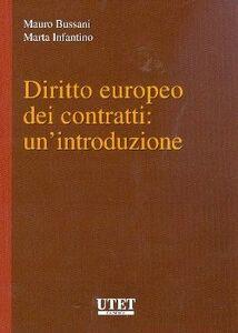 Diritto europeo dei contratti: un'introduzione