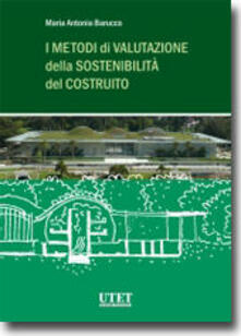 Antondemarirreguera.es I metodi della valutazione della sostenibilità del costruito Image
