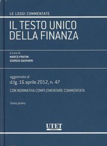 Il testo unico della finanza