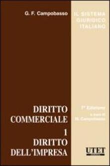 Ascotcamogli.it Diritto commerciale. Vol. 1: Diritto dell'impresa. Image