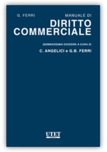 Manuale di diritto commerciale - Giuseppe Ferri - copertina