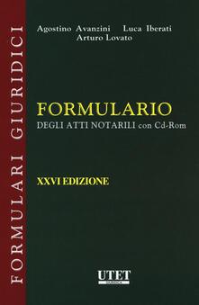 Osteriacasadimare.it Formulario degli atti notarili. Con e-book. Con CD-ROM Image