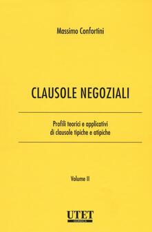 Squillogame.it Clausole negoziali. Profili teorici e applicativi di clausole tipiche e atipiche. Vol. 2 Image