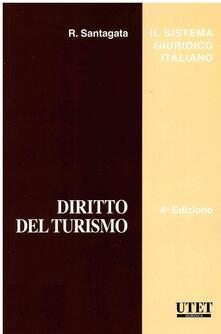 Diritto del turismo - Renato Santagata - copertina