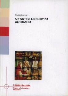 Milanospringparade.it Appunti di linguistica germanica Image