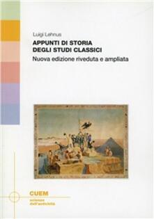 Capturtokyoedition.it Appunti di storia degli studi classici Image