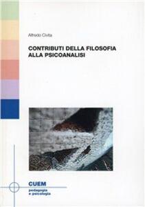Libro Contributi della filosofia alla piscanalisi Alfredo Civita