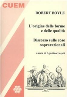 L origine delle forme e delle qualità. Discorso sulle cose soprarazionali.pdf