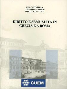 Diritto e sessualità in Grecia e a Roma