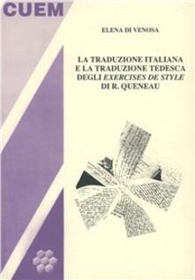 Osteriacasadimare.it La traduzione italiana e la traduzione tedesca degli exercises de style di R. Queneau Image