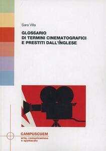 Glossario dei termini cinematografici e prestiti dall'inglese