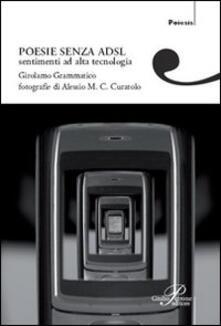 Poesie senza adsl - Girolamo Grammatico - copertina