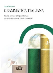 Grammatica italiana - Luca Serianni - copertina
