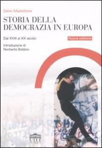 Storia della democrazia in Europa. Dal XVIII al XX secolo