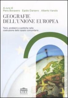 Milanospringparade.it Geografie dell'Unione Europea. Temi, problemi e politiche nella costruzione dello spazio comunitario Image