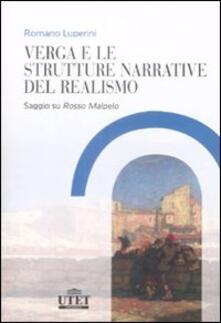 Verga e le strutture narrative del realismo. Saggio su «Rosso Malpelo» - Romano Luperini - copertina