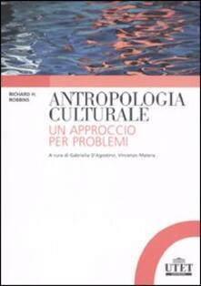 Mercatinidinataletorino.it Antropologia culturale. Un approccio per problemi Image