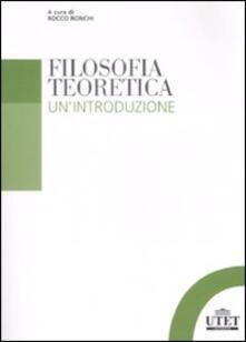 Voluntariadobaleares2014.es Filosofia teoretica. Un'introduzione Image