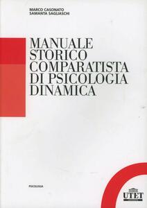Manuale storico comparatista di psicologia dinamica
