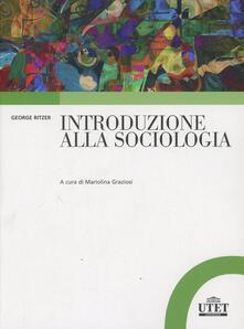 Sociologia generale - George Ritzer - copertina
