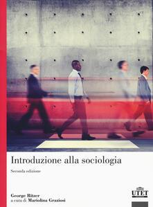 Introduzione alla sociologia - George Ritzer - copertina