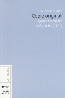 Writersfactory.it Copie originali. Iperrealismi tra pittura e cinema Image