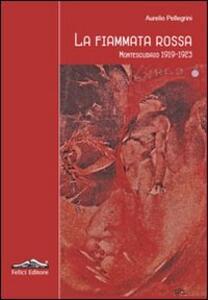 La fiammata rossa. Montescudaio 1919-1923 - Aurelio Pellegrini - copertina
