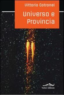 Universo e provincia - Vittorio Cotronei - copertina