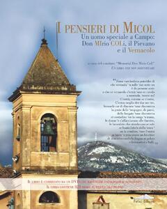I pensieri di Micol. Un uomo speciale a Campo, don Mirio Coli. Con DVD - copertina