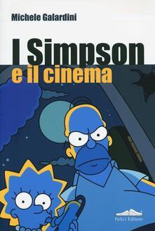 I Simpson e il cinema - Michele Galardini - copertina