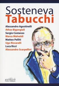 Sosteneva Tabucchi - copertina