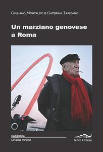 Un marziano genovese a Roma - copertina