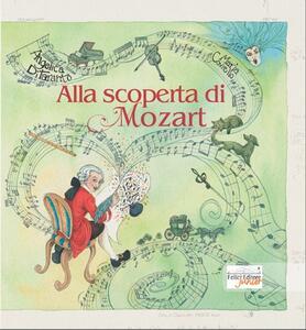 Alla scoperta di Mozart - Angelica Di Taranto - copertina