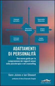 Listadelpopolo.it Adattamenti di personalità. Una nuova guida per la comprensione dei rapporti umani nella psicoterapia e nel counselling Image