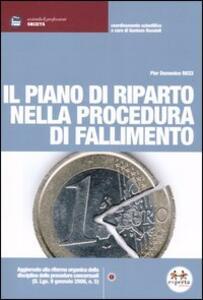 Il piano di riparto nella procedura di fallimento - P. Domenico Ricci - copertina