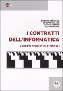 I contratti dell'informatica. Aspetti civilistici e fiscali - copertina