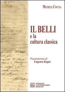 Il Belli e la cultura classica - Michele Coccia - copertina