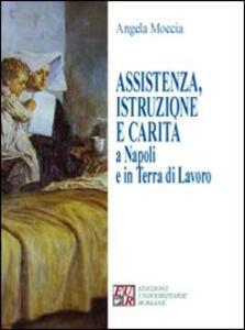 Assistenza, istruzione e carità a Napoli e in terra di lavoro - Angela Moccia - copertina