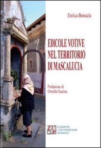 Edicole votive nel territorio di Mascalucia - Enrica Bonacia - copertina