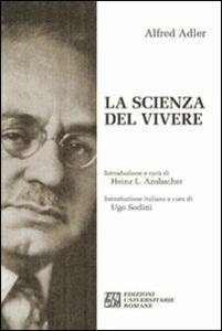 La scienza del vivere - Alfred Adler - copertina