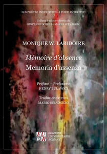 Mémoire d'absence-Memoria d'assenza - Monique W. Labidoire - copertina