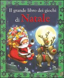 Libro Il grande libro dei giochi di Natale