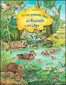 Il mio grande libro del ruscello e lago - copertina