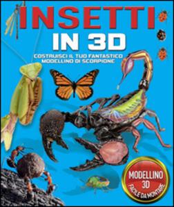 Insetti in 3D. Con gadget - copertina