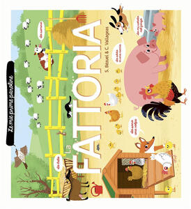 La fattoria. Le mie prime paroline - Sylvie Bézuel,Coralie Vallageas - copertina