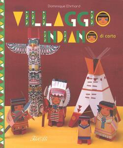 Villaggio indiano di carta - Dominique Ehrhard - copertina