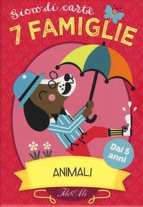 Animali. 7 famiglie. Gioco di carte - Amy Blay - copertina